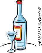 Vodka clipart jpg freeuse Vodka Clip Art - Royalty Free - GoGraph jpg freeuse