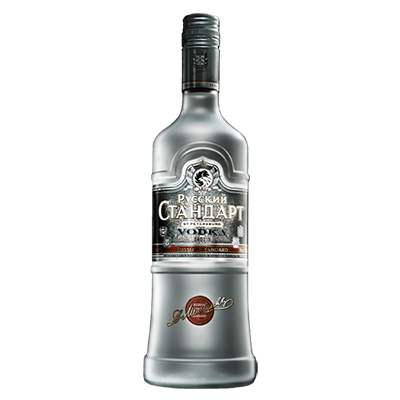 Vodka transparnt clipart png black and white stock Russian Standard Vodka transparent PNG - StickPNG png black and white stock