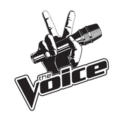 Voice clipart transparent white clip art freeuse The Voice Logo With Microphone transparent PNG - StickPNG clip art freeuse
