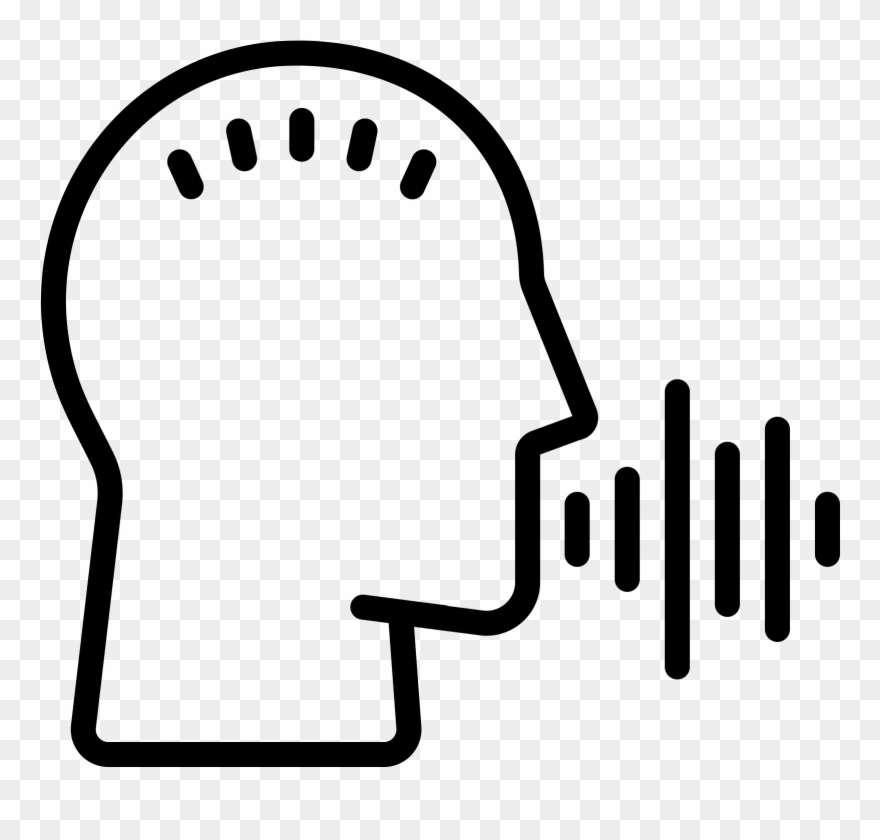 Voice icon clipart clipart freeuse download Voice Recognition Scan Icon - Voice Icon Clipart (#4110419 ... clipart freeuse download