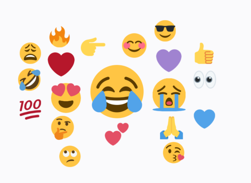 Voice level clipart emoji graphic freeuse stock Emoji — the most voiced language digitally - UX Collective graphic freeuse stock