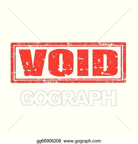 Void stamp clipart jpg freeuse library Vector Clipart - Void-stamp. Vector Illustration gg66906208 ... jpg freeuse library
