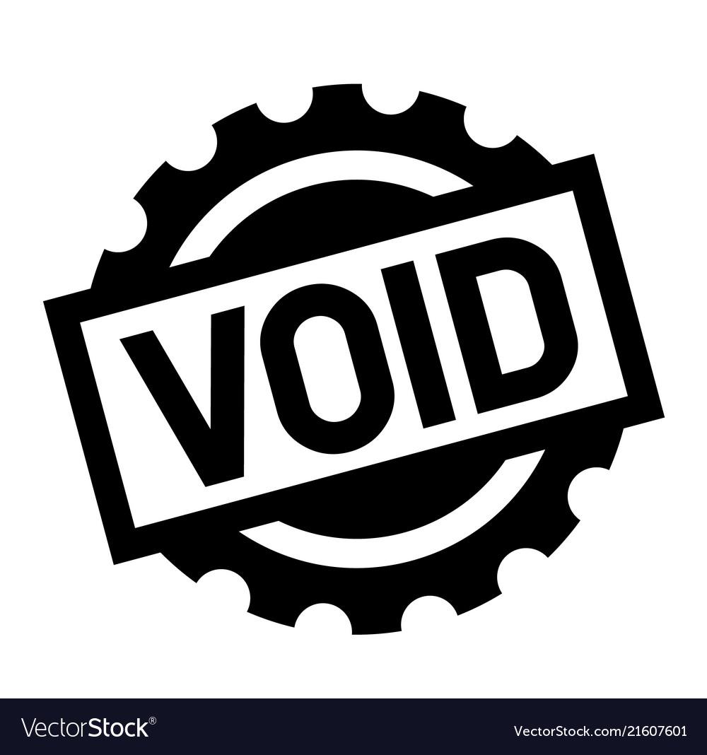 Void stamp clipart svg download Void black stamp svg download