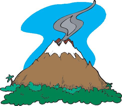 Volcano before eruption clipart banner library download Volcanoes: Teachers (Science Trek: Idaho Public Television) banner library download