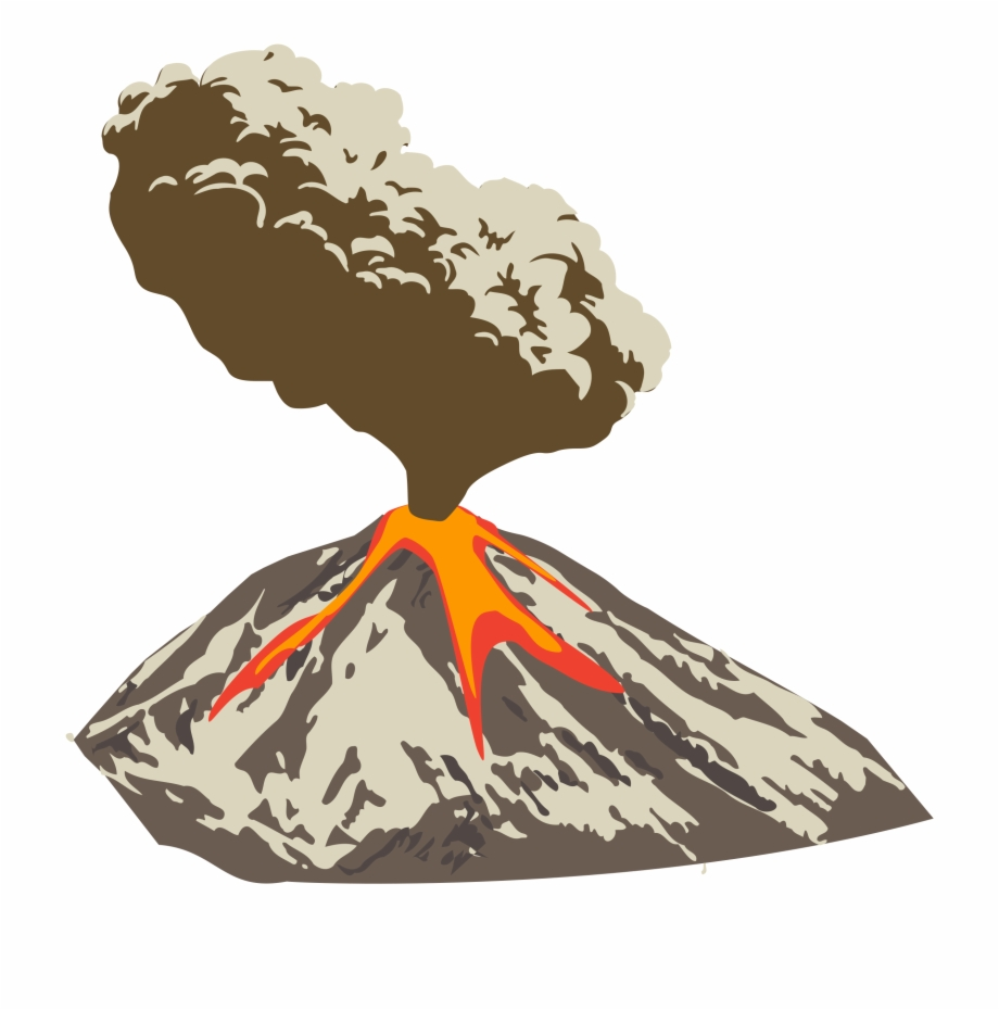 Volcano border clipart freeuse Download Volcano Png Clipart For Designing Projects ... freeuse