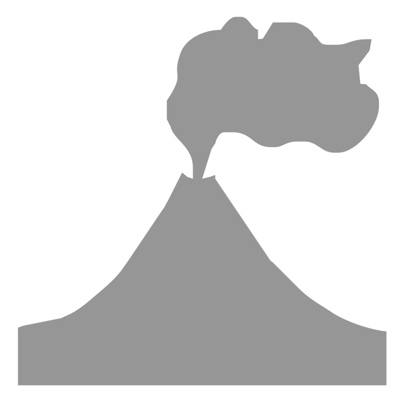Volcano clipart black and white transparent background clip art freeuse download Download Free png Volcano PNG, Download PNG image with ... clip art freeuse download