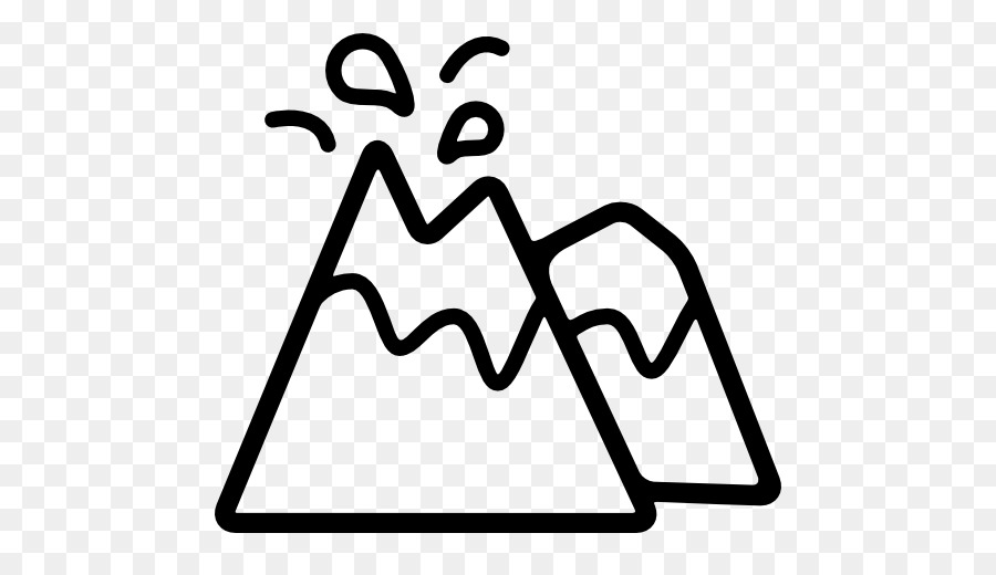 Volcano clipart black and white transparent background image transparent Cartoon Nature Background png download - 512*512 - Free ... image transparent