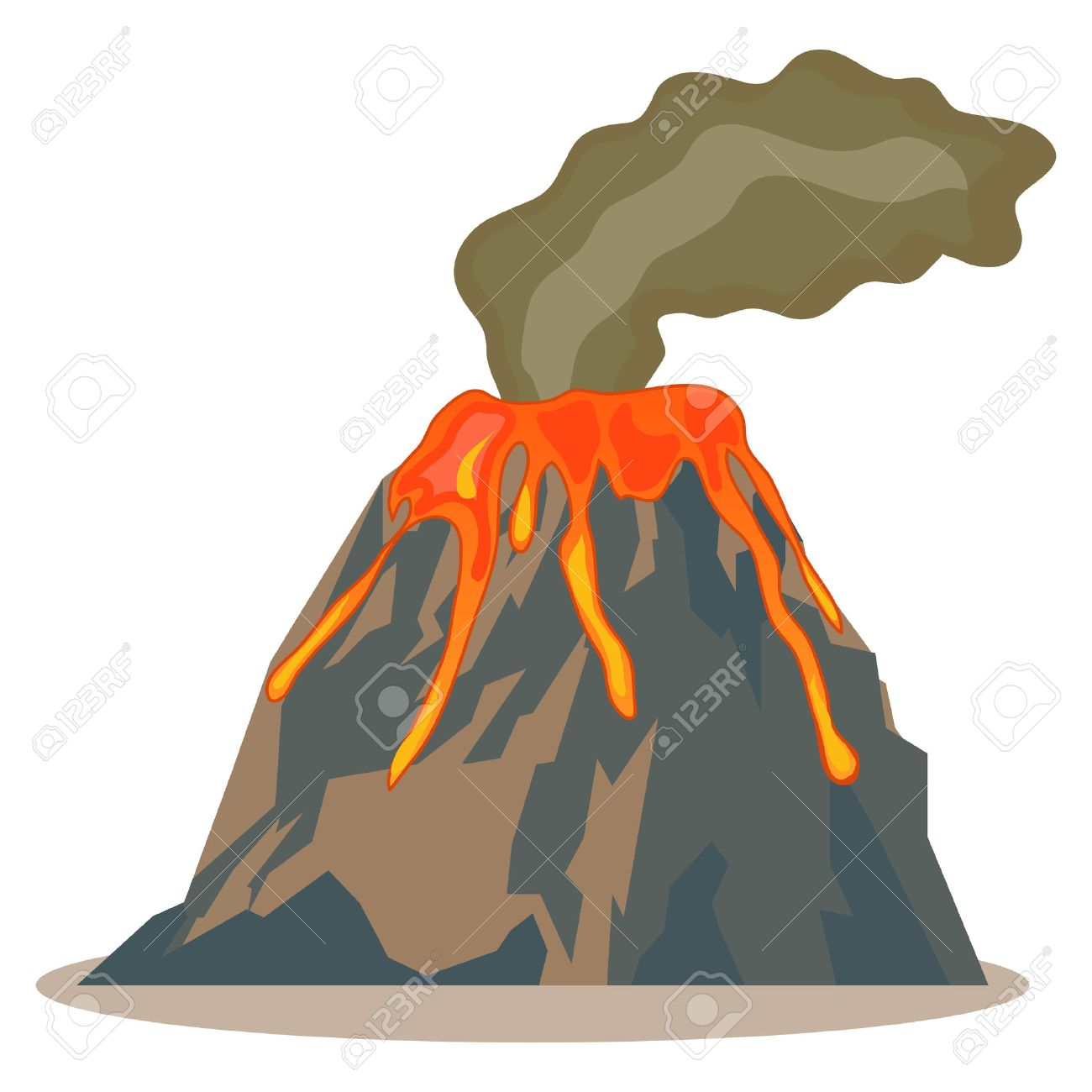 Volcano lava clipart clip art library download Collection of Volcano clipart | Free download best Volcano ... clip art library download