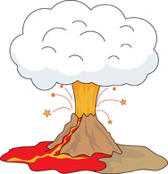 Library of volcano lava clip art freeuse library png files ...