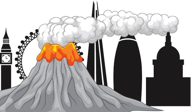 Volcanoes are very dangerous clipart clipart What\'s The Closest Volcano To London? | Londonist clipart