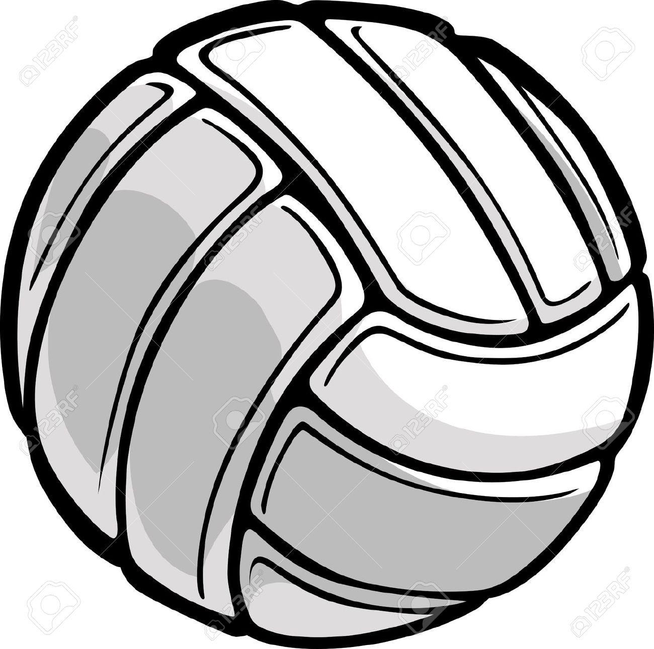 Volleyball ball vector clipart clip art free Stock Vector | Volleyball | Volleyball, Illustration, Logos clip art free