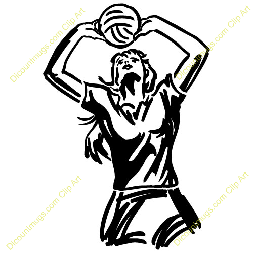 Volleyball banquet clipart picture library download Setter Volleyball Clipart | Event: Graduation Party ... picture library download