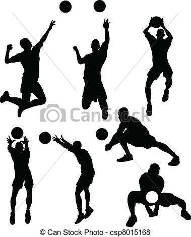 Volleyball block clipart image free download Volleyball Illustrations and Clip Art. 10,089 Volleyball royalty ... image free download