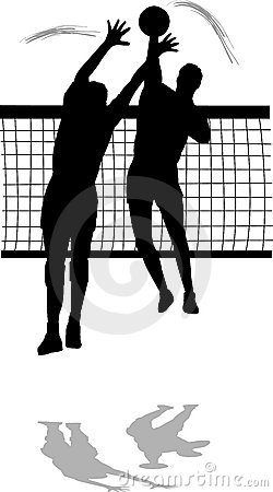 Volleyball block clipart clip black and white library Volleyball block clipart - ClipartFest clip black and white library