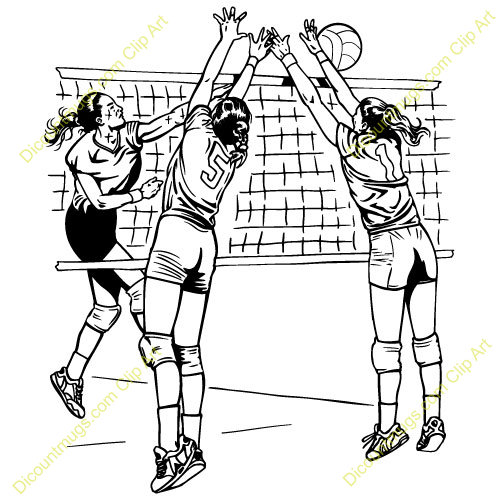Volleyball block clipart graphic freeuse Images of volleyball clipart - ClipartFest graphic freeuse