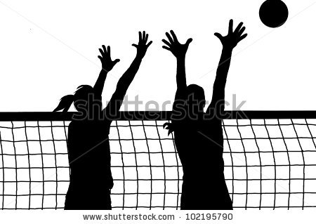 Volleyball block clipart svg free stock Volleyball Block Stock Images, Royalty-Free Images & Vectors ... svg free stock