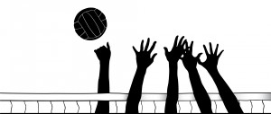 Volleyball block clipart vector free stock Volleyball Clipart - Awesome and FREE! - Volleyball Court Central vector free stock