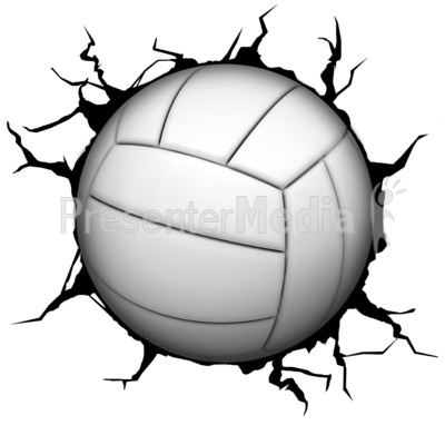 Volleyball charge clipart png freeuse stock Crack Wall Volleyball - Presentation Clipart - Great Clipart ... png freeuse stock