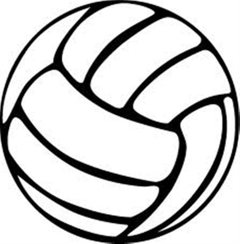 Volleyball clipart black and white picture free download Free Black And White Volleyball, Download Free Clip Art ... picture free download