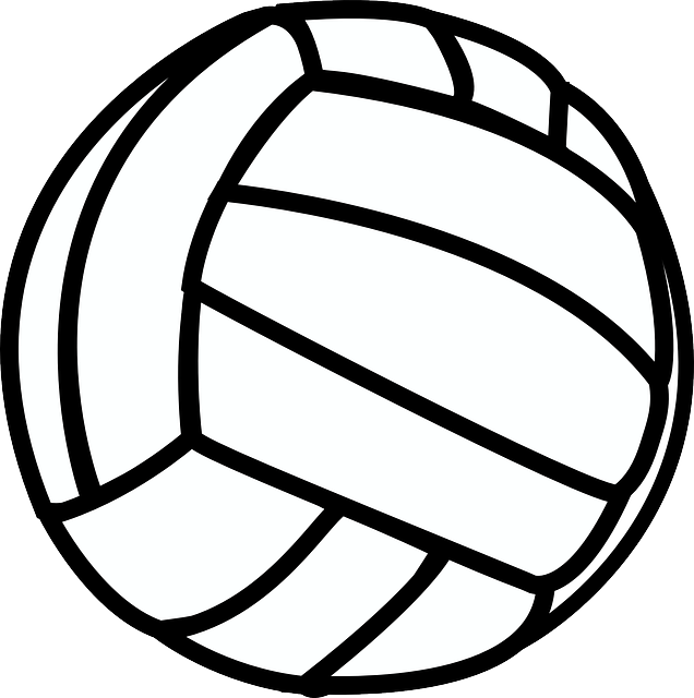 Volleyball clipart black and white jpg royalty free download Free Image on Pixabay - Volleyball, Sport, Black, White ... jpg royalty free download