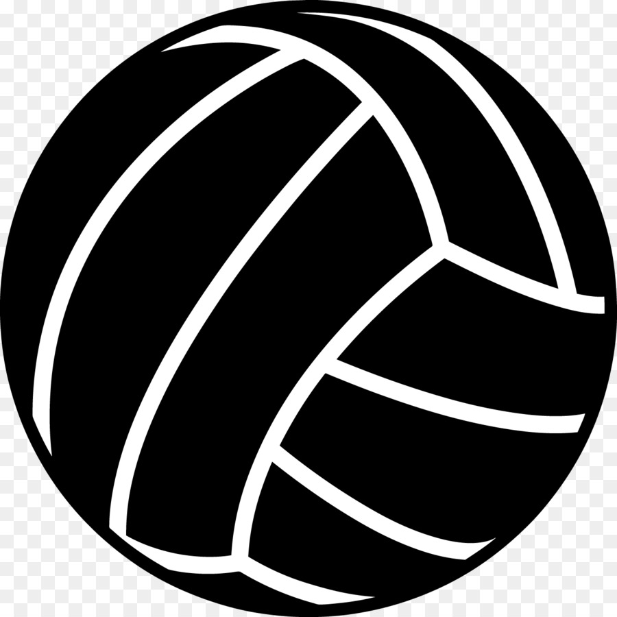 Volleyball clipart black and white vector freeuse Black and white volleyball clipart 5 » Clipart Station vector freeuse