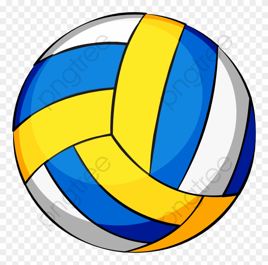Volleyball clipart blue clipart freeuse download Volleyball Clipart Blue - Png Download (#4915625) - PinClipart clipart freeuse download