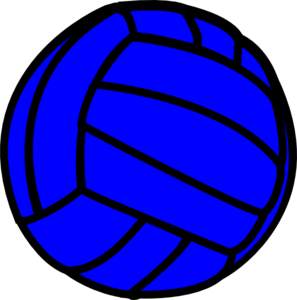 Volleyball clipart blue jpg Blue volleyball clipart – Gclipart.com jpg