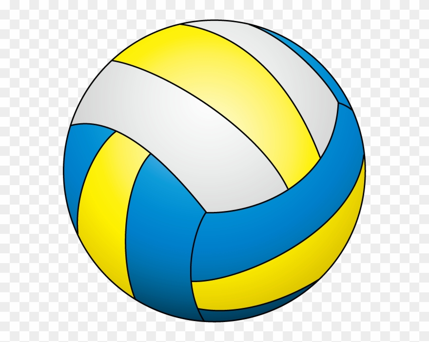Volleyball clipart blue vector royalty free Volleyball - Volleyball Png Clipart (#234602) - PinClipart vector royalty free