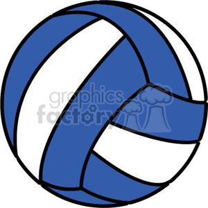 Volleyball clipart blue jpg transparent library volleyball blue and white clipart. Royalty-free clipart # 381196 jpg transparent library