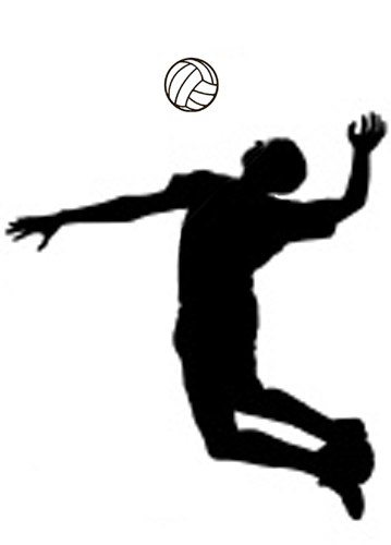 Volleyball clipart images jpg black and white stock Volleyball clipart free free clipart images clipartix 6 ... jpg black and white stock