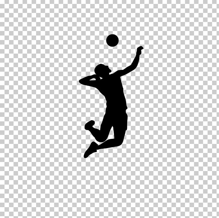 Volleyball clipart png silhouette