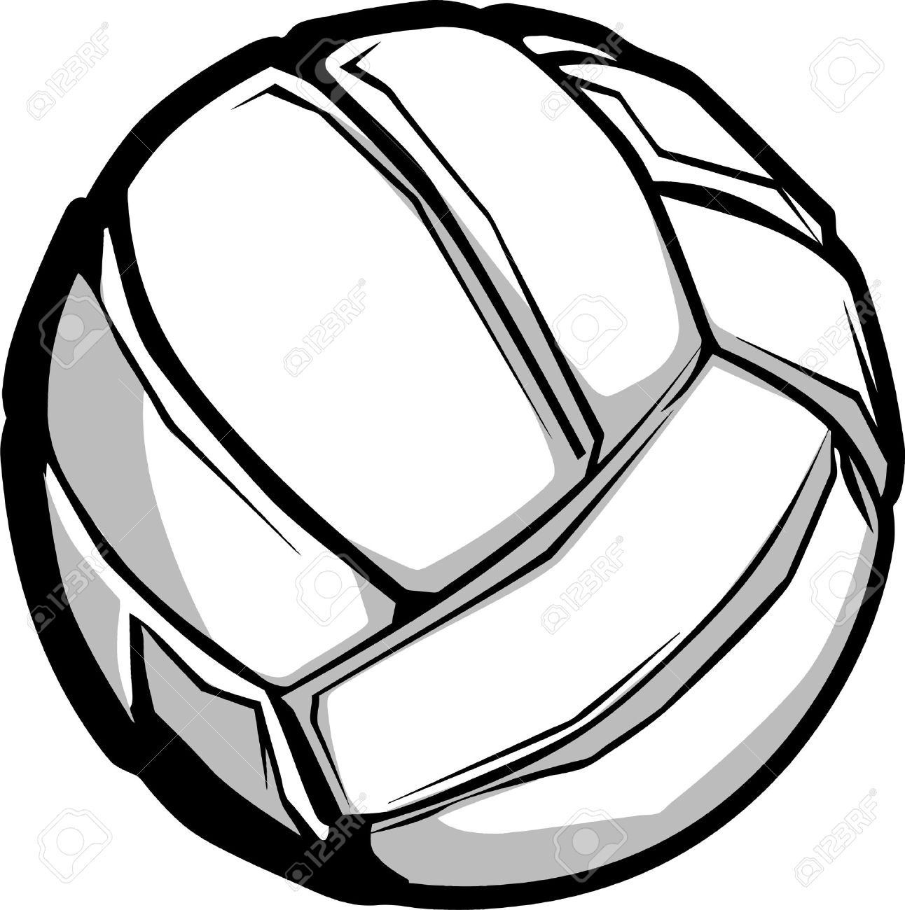 Volleyball clipart vectors clipart black and white Vector volleyball clipart 5 » Clipart Station clipart black and white