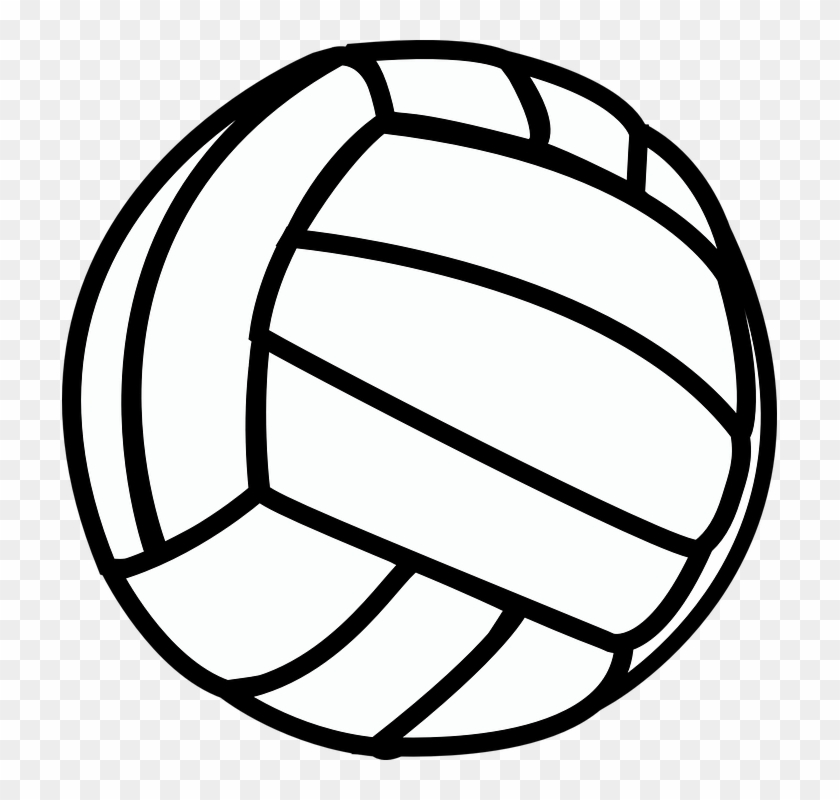 Volleyball clipart white clip art black and white 19 Ball Vector Waterpolo Huge Freebie Download For ... clip art black and white