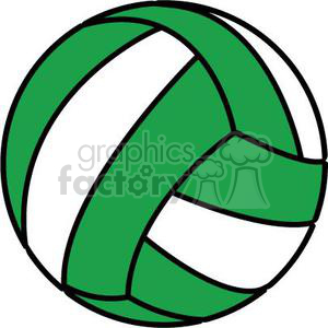 Volleyball clipart with cross picture royalty free stock green volleyball clipart. Royalty-free clipart # 381187 picture royalty free stock