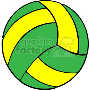 Volleyball clipart with cross svg royalty free library sports equipment green yellow volleyball clipart. Royalty-free clipart #  398104 svg royalty free library