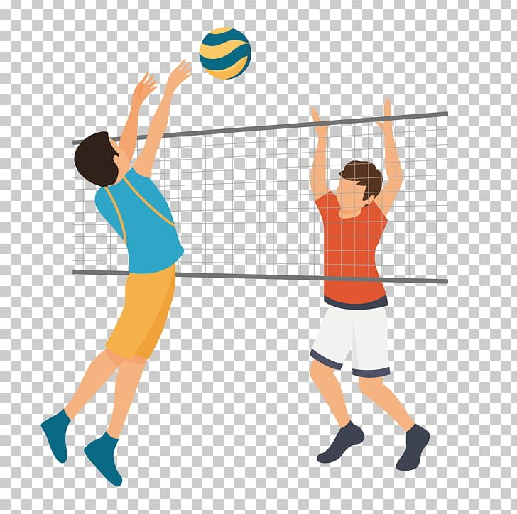 unique-court-volleyball-clipart-drawing-1024×576 |Volleyball Game Clipart