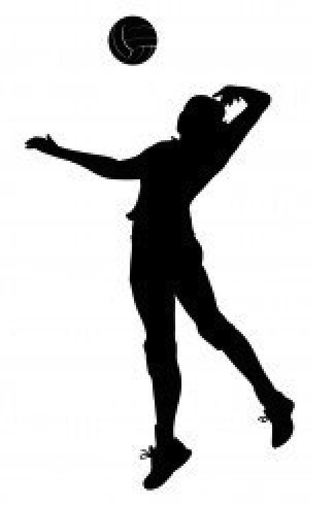 Volleyball jpg clipart picture freeuse library Image of Volleyball Player Clipart #10783, Free Volleyball Clip ... picture freeuse library