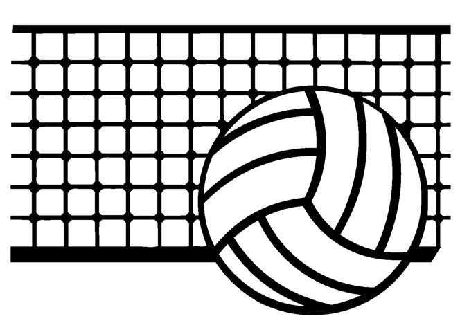 Volleyball jpg clipart banner Volleyball Net Clipart - Clipart Kid banner