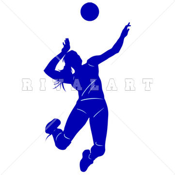 Volleyball jpg clipart jpg free stock Volleyball Player Silhouette Clipart | Clipart Panda - Free ... jpg free stock