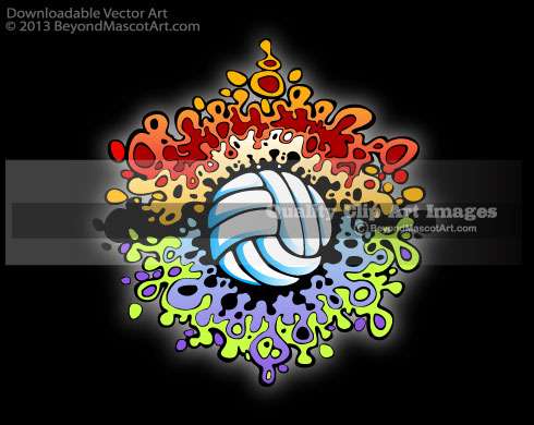 Volleyball jpg clipart clip art library stock Volleyball Tee Shirt Clip Art – Clipart Free Download clip art library stock