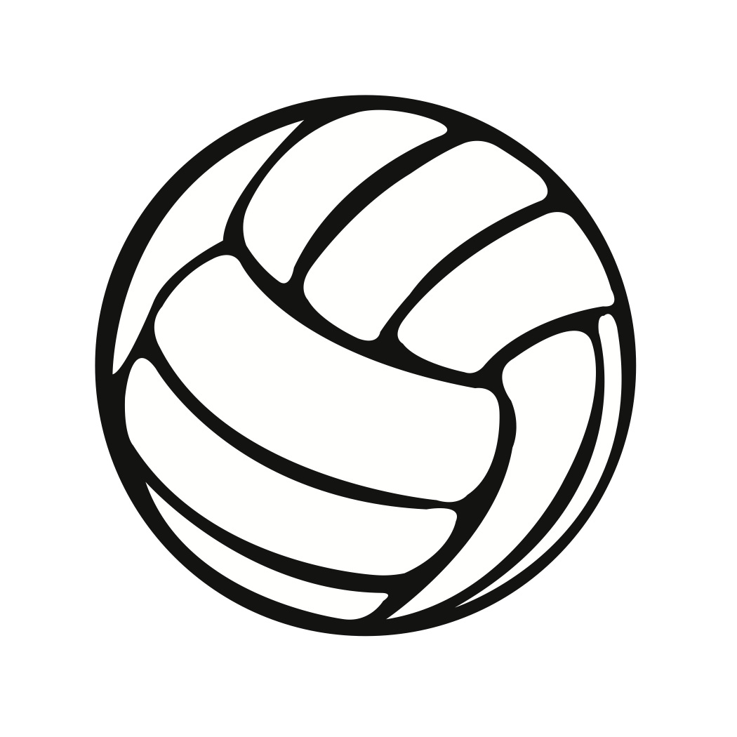 Volleyball jpg clipart clipart black and white download Volleyball Ball Clipart - Clipart Kid clipart black and white download