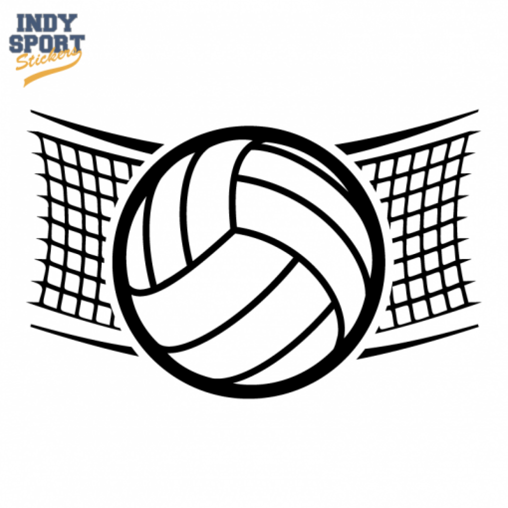Volleyball over net clipart jpg black and white stock Volleyball Ball Drawing at PaintingValley.com | Explore ... jpg black and white stock