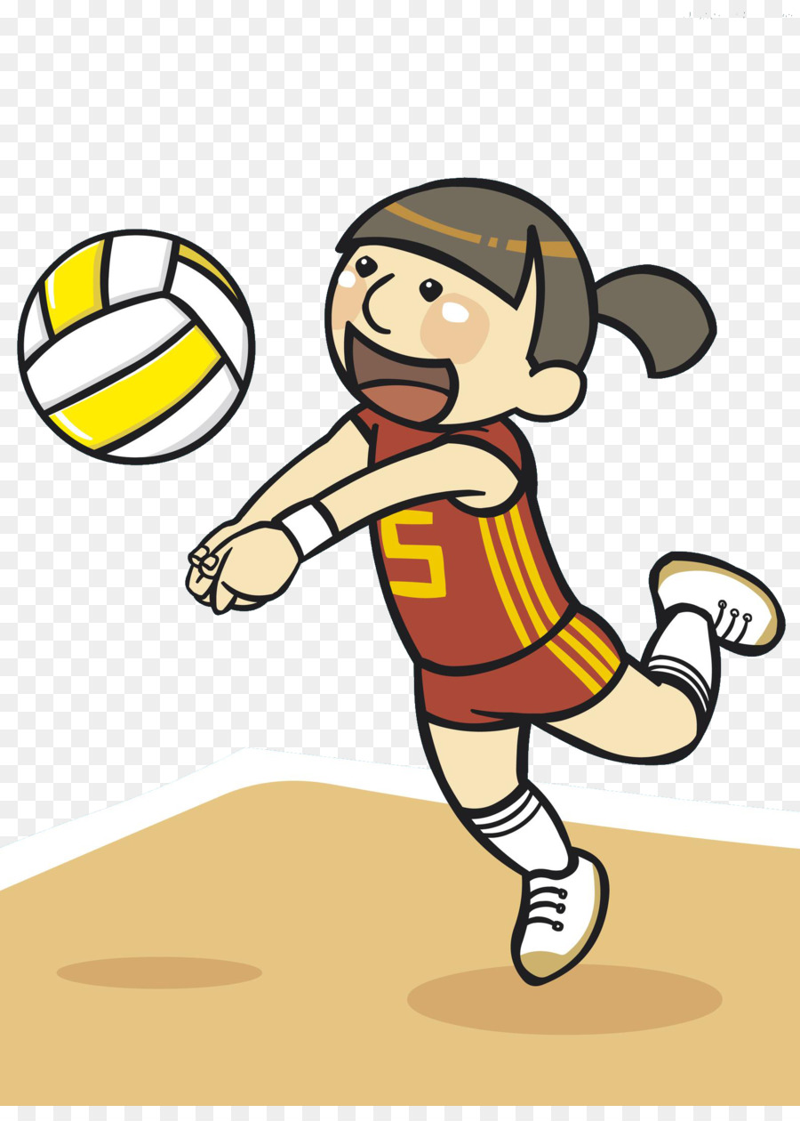 Playing volleyball clipart » Clipart Station |Volleyball Game Clipart