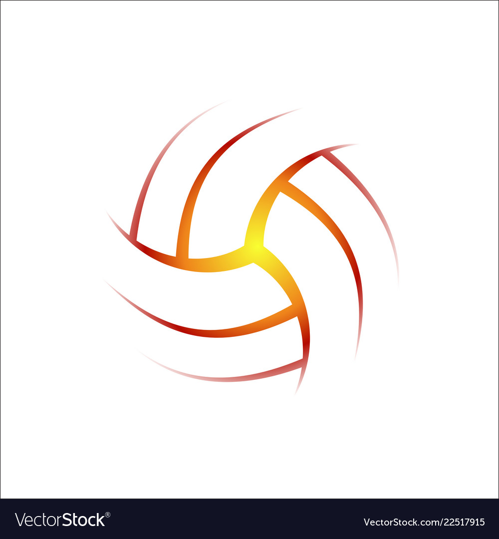 Volleyball outline clipart vector freeuse stock Volleyball outline background vector freeuse stock