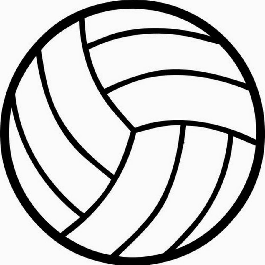 Volleyball outline clipart clip art download Volleyball Ball Clipart | Free download best Volleyball Ball ... clip art download