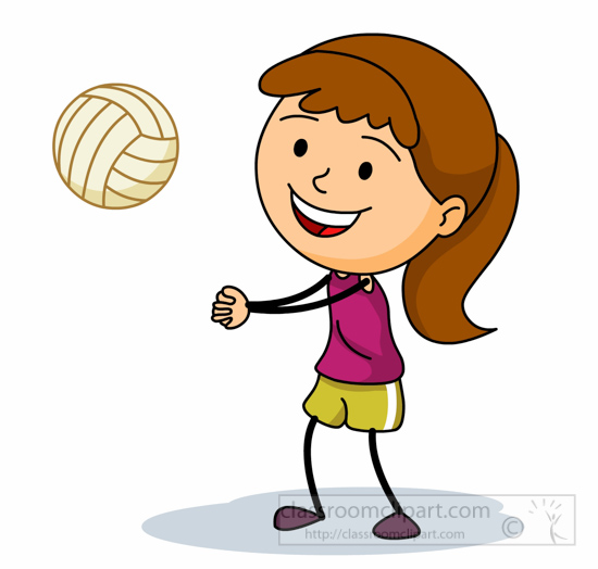 Volleyball player clipart png black and white stock Volleyball Clipart Images | Free download best Volleyball ... png black and white stock