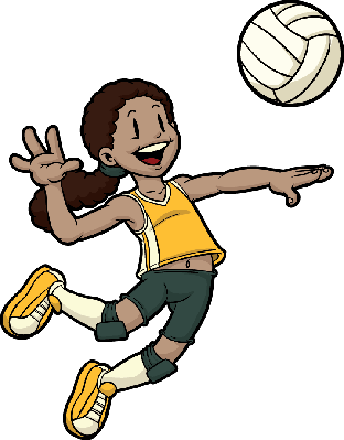 Volleyball player clipart clip library download Volleyball Player | Clipart | PBS LearningMedia clip library download