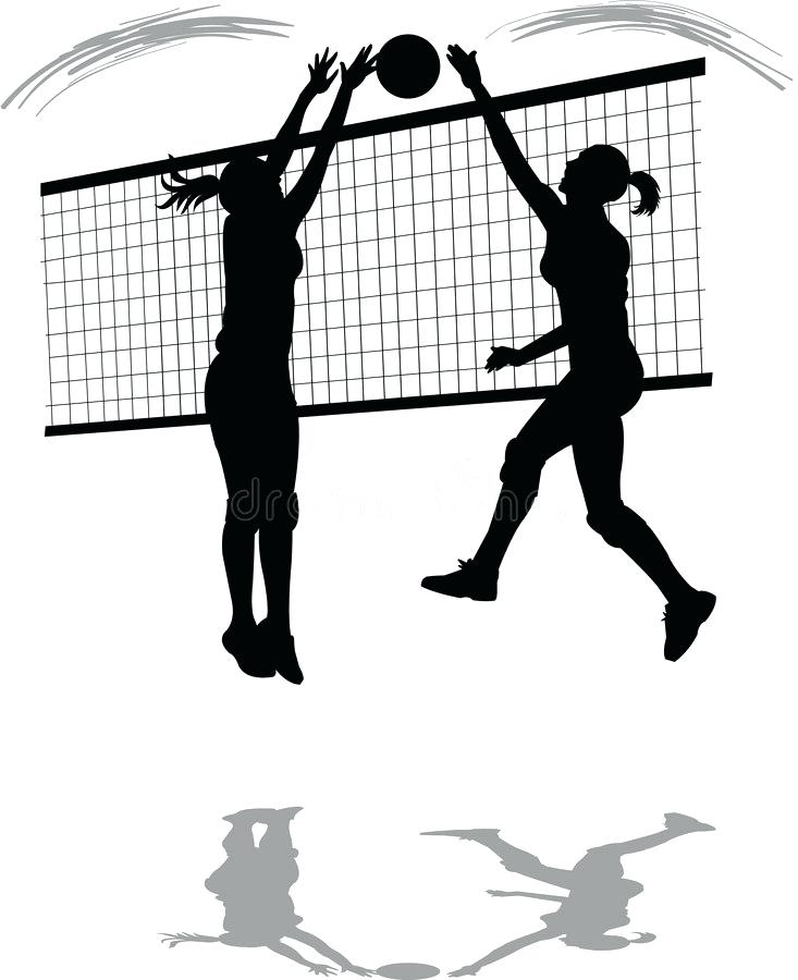 Volleyball player clipart blocking clip library clip art volleyball – rabirajkhadka.me clip library