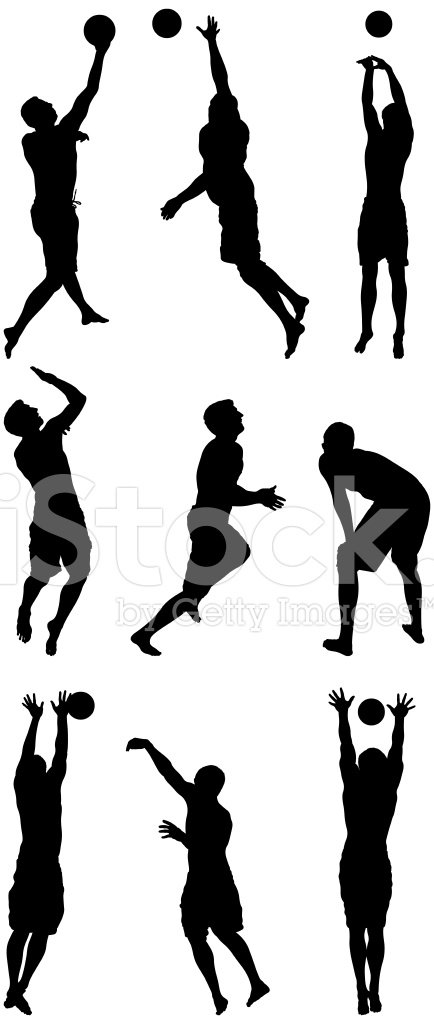 Volleyball players in action clipart jpg library Volleyball Players IN Action premium clipart - ClipartLogo.com jpg library