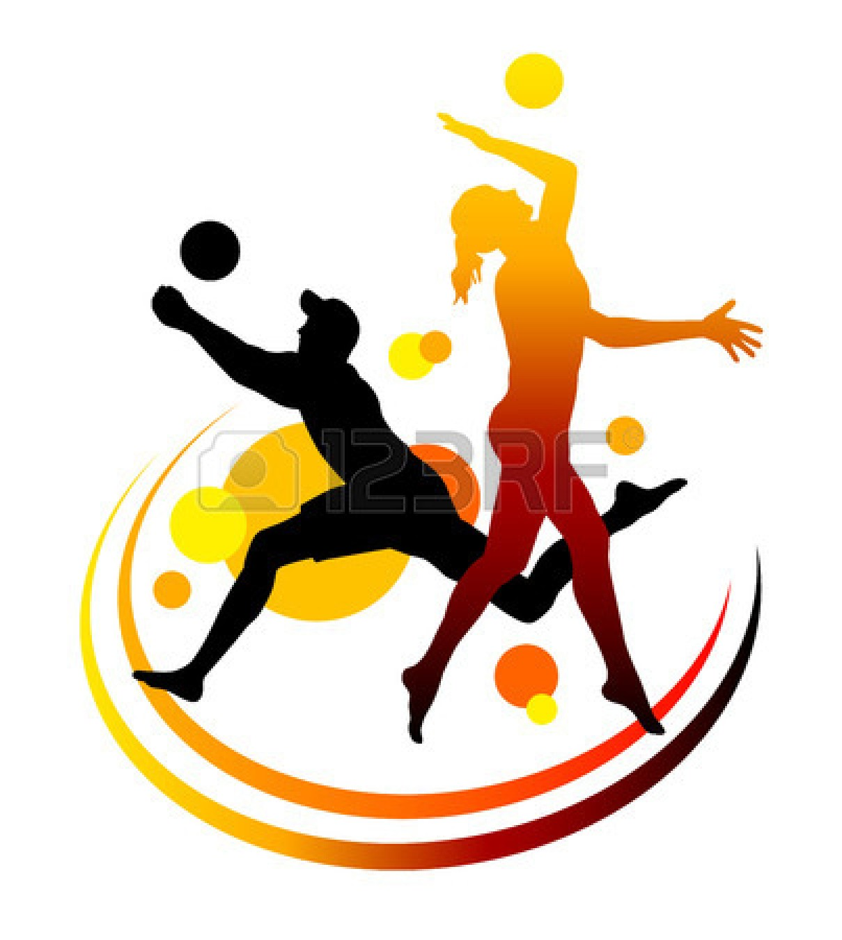 Volleyball players in action clipart clipart royalty free stock Volleyball players in action clipart 8 » Clipart Station clipart royalty free stock